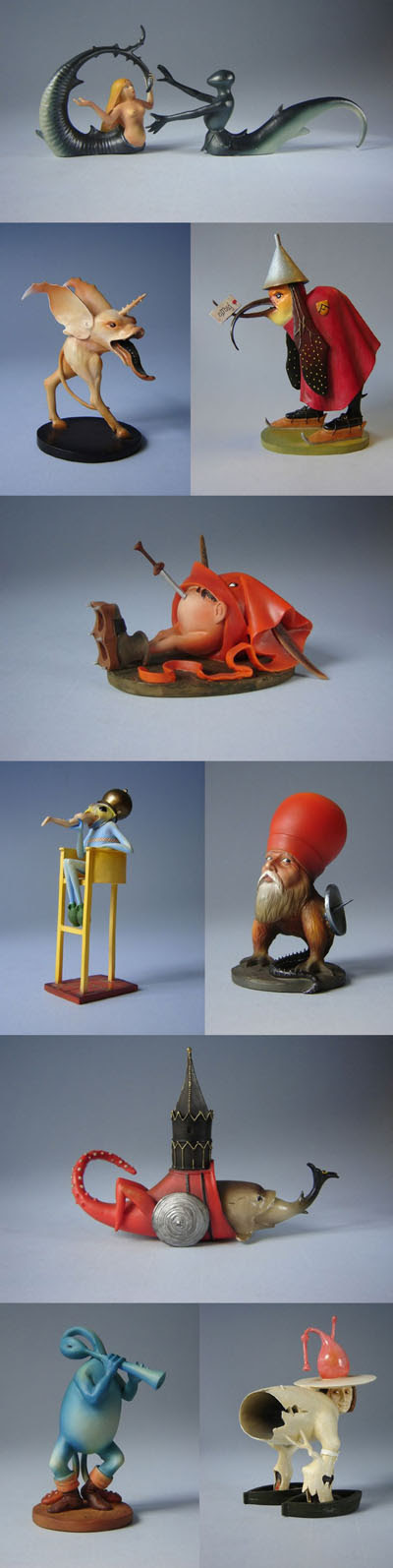 Hieronymus Bosch figurines
