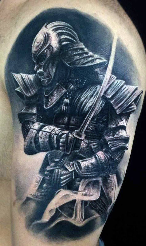 Samurai Drawing Tattoo At Getdrawingscom Free For Personal Use