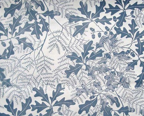 Oak Leaf ~ Marthe Armitage Wallpaper