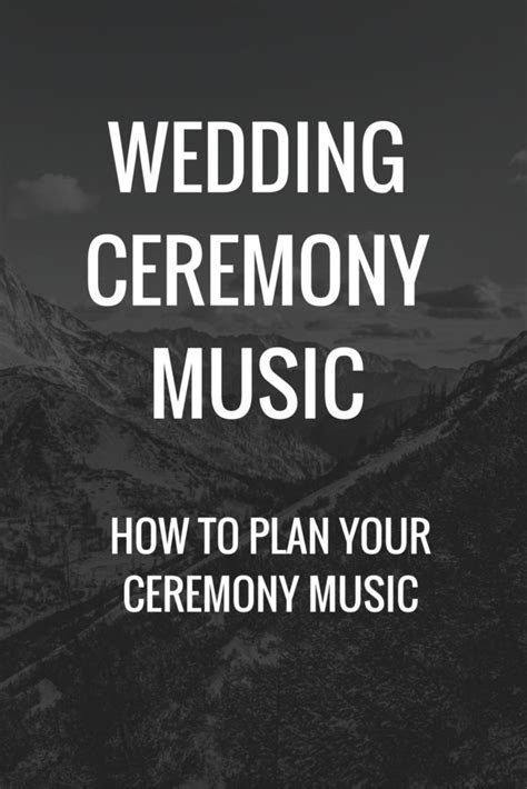 1000  ideas about Wedding Songs Ceremony on Pinterest