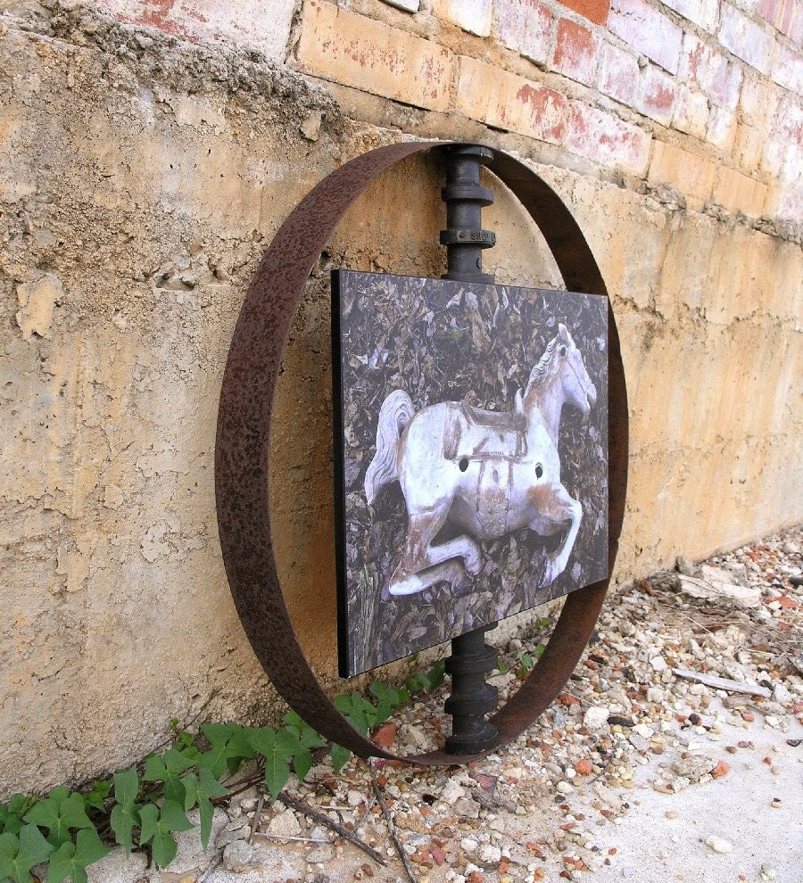 Industrial Wall Art. Photography Assemblage