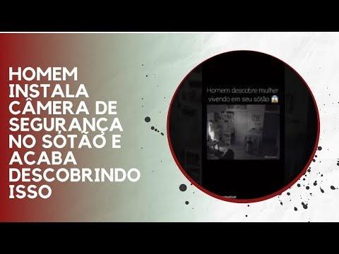 HOMEM INSTALA CÂMERA DE SEGURANÇA NO SÓTÃO E ACABA DESCOBRINDO ISSO