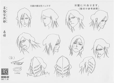 anime settei bleach settei pre settei sheet model