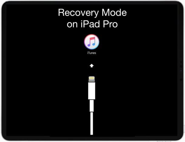 How To Enter Recovery Mode On Ipad Pro 2018 Newer Osxdaily