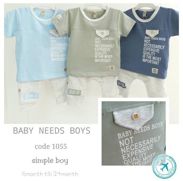 BELI BAJU SETELAN PERGI BAYI COWOK LAKI-LAKI BABY BOY FASHION BRANDED IMPOR BABY NEEDS
