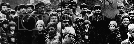 lenin doctored photo trotsky
