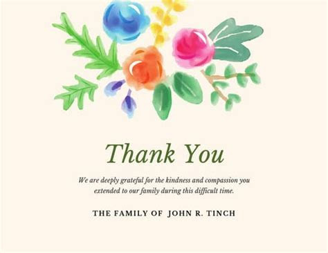 Customize 408  Thank You Card templates online   Canva