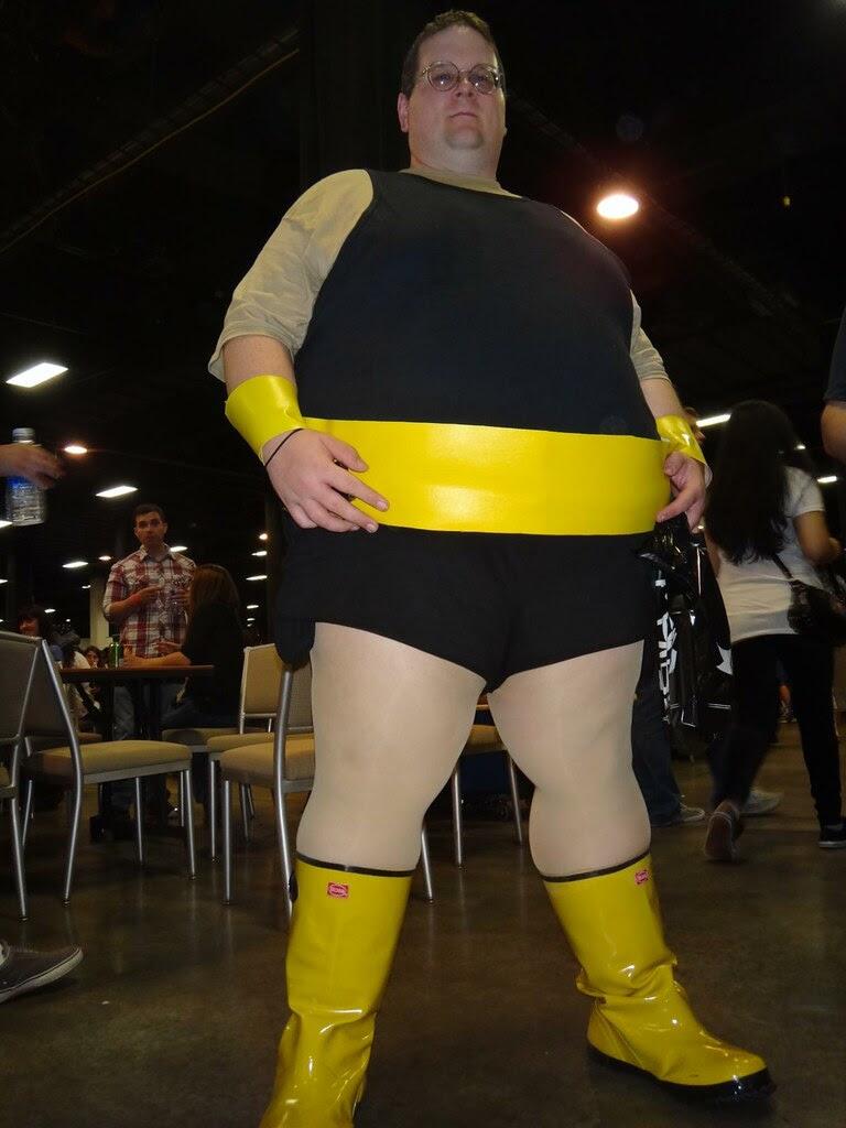 boston comic con 2013 marvel comics blob cosplay