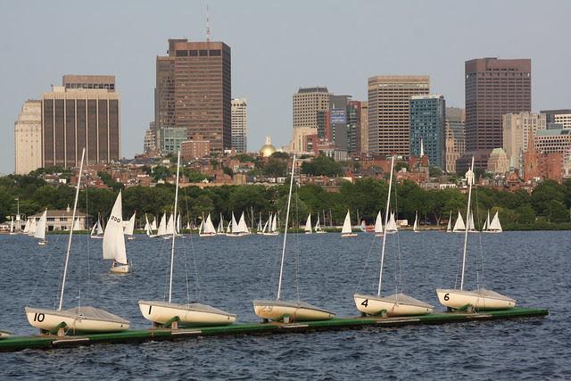 friday sailboats, charles river