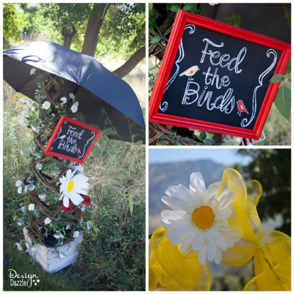 Mary Poppins Feed The Birds Sign - Design Dazzle