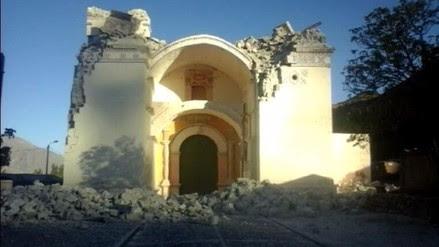 SISMO EN PERU CAUSA GRAVES DAÑOS ESTRUCTURALES