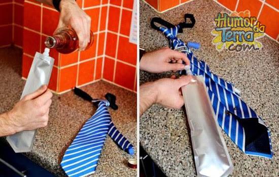 pinga-camuflada-com-gravata