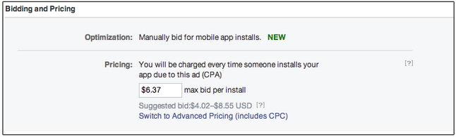 facebook cpa mobile ad