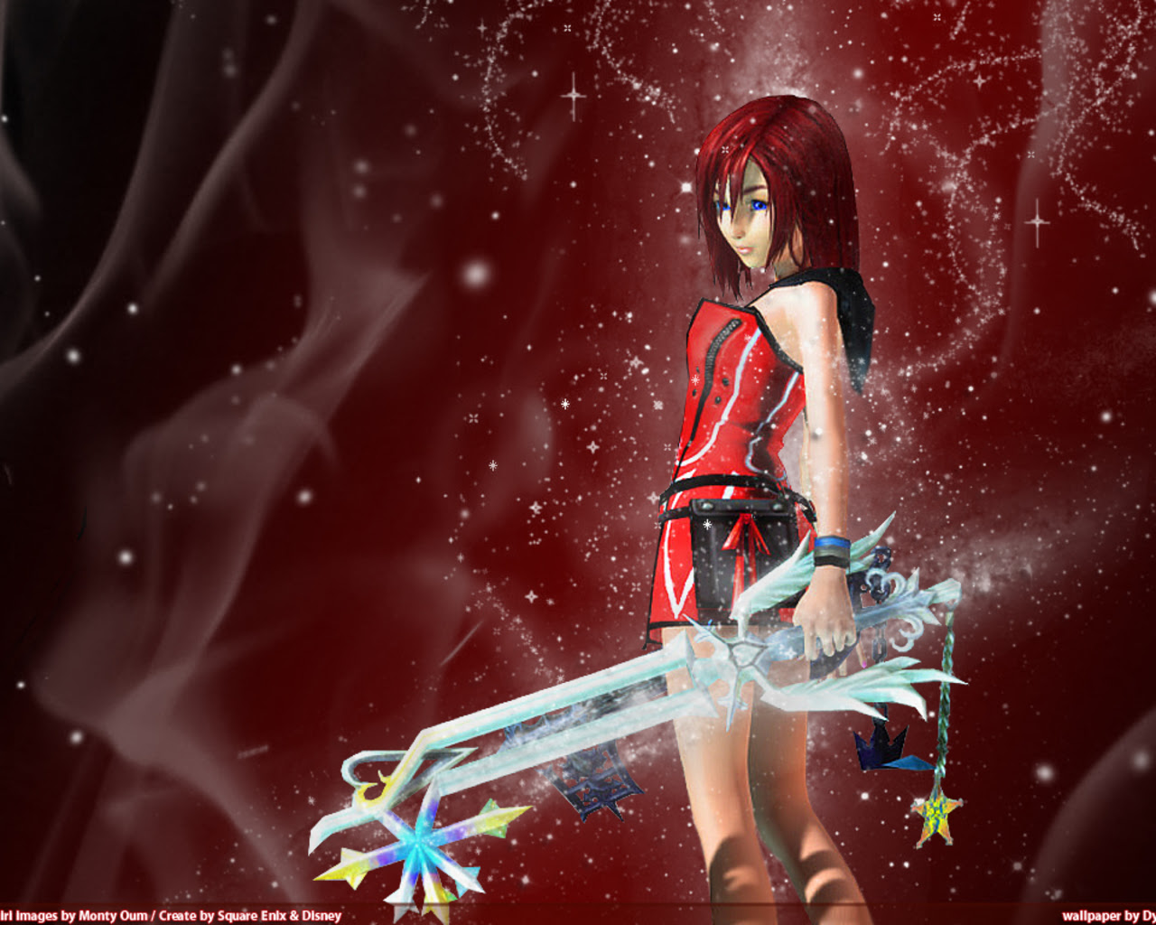 Kairi Kingdom Hearts The Girls Of Kingdom Hearts 壁紙