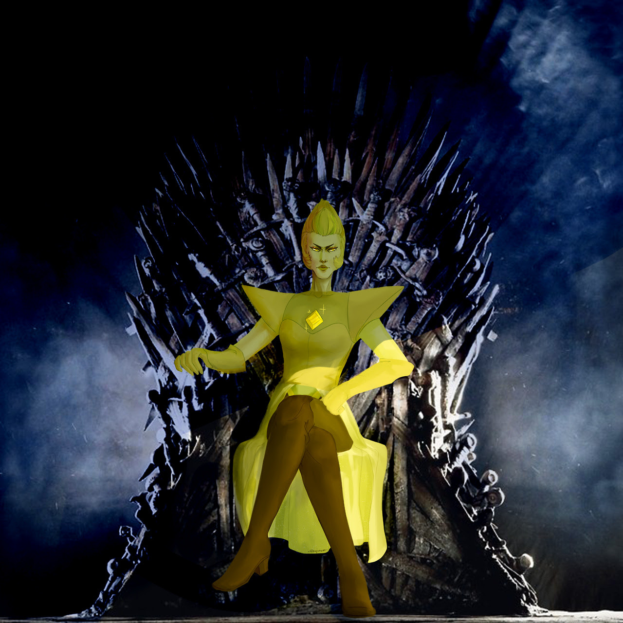I think, Yellow Diamond is just like Cersei Lannister