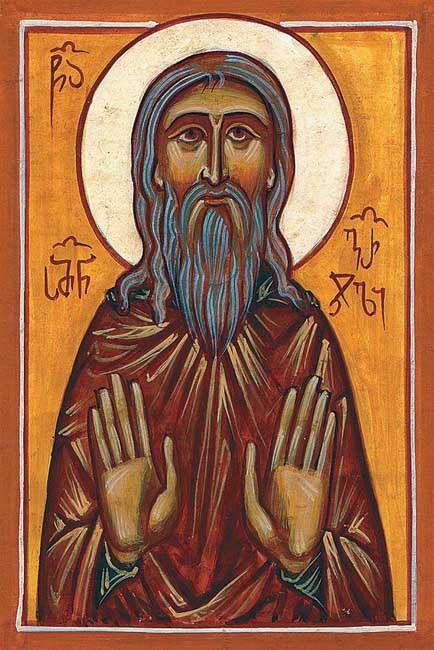 IMG ST. SYMEON, Simeon, Martyr of the St David Gareji Monastery, Georgia