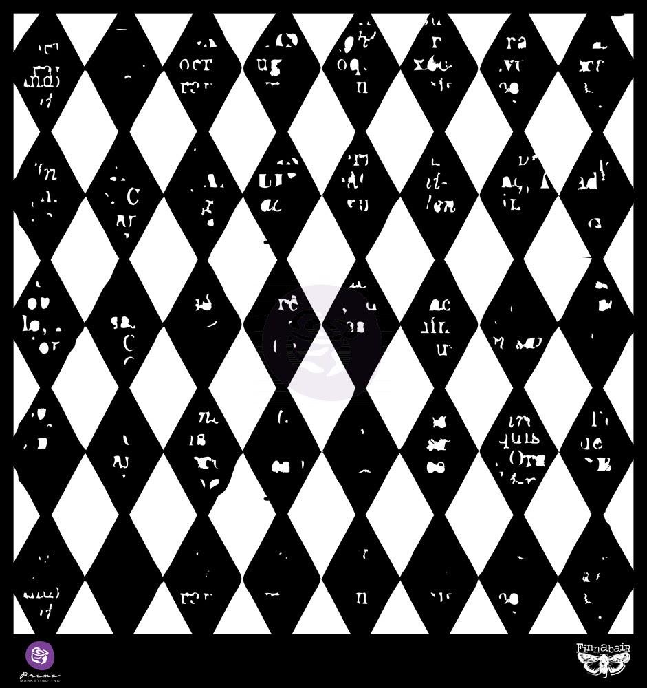 Prima 12x12 Stencil Diamonds