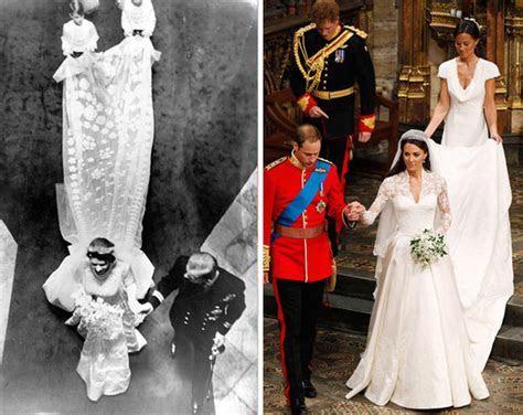 Queen Elizabeth?s wedding dress value vs Kate Middleton?s