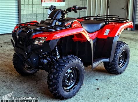 honda rancher  review specs trxtm