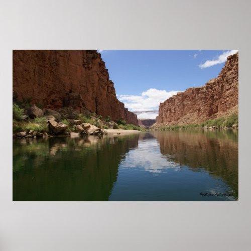Approaching Navajo Bridges print