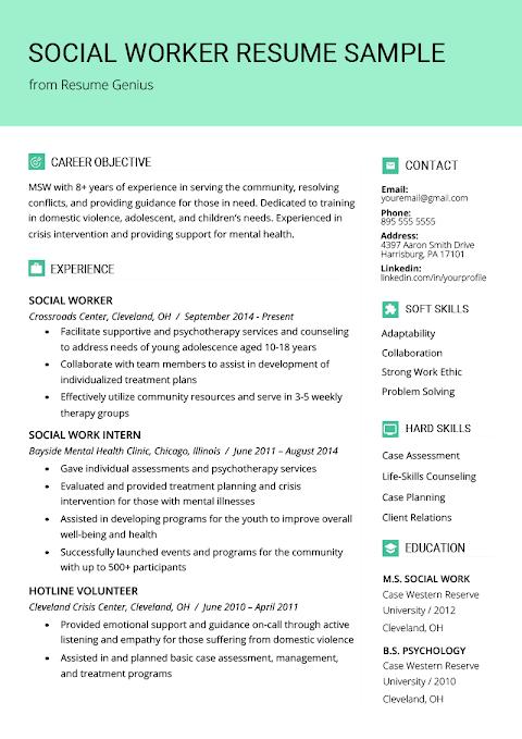 Social Worker Resume Template from lh4.googleusercontent.com