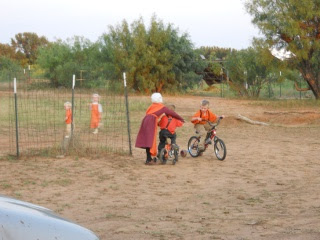 The Children Having Fun Outside on The 12th Orange Day, 2012