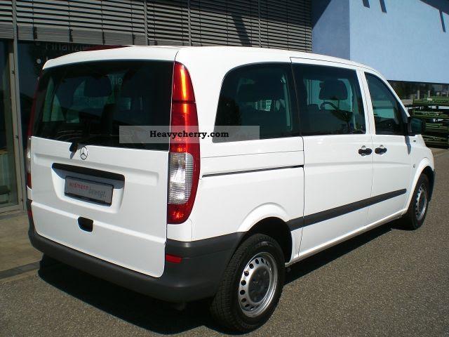 Mercedes-Benz Vito 110 CDI Estate Climate +9 seater 2010 ...