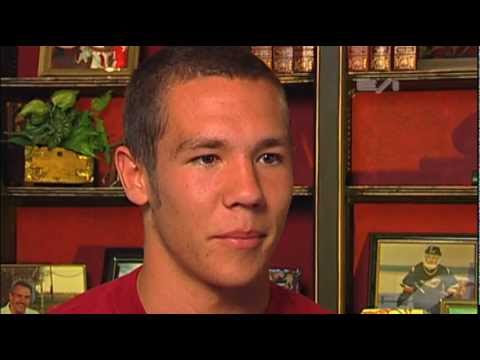 Sam Bradford - High School Highlights & Interview- Sports Stars of Tomorrow