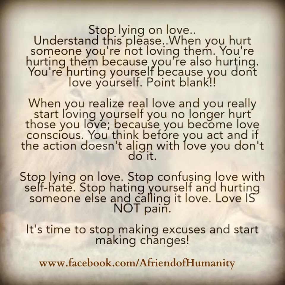 Stop Lying On Love Pictures Photos And Images For Facebook Tumblr