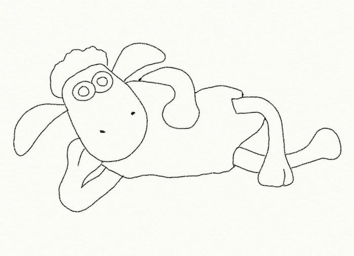 Coloriage Shaun Le Mouton Shaun 2