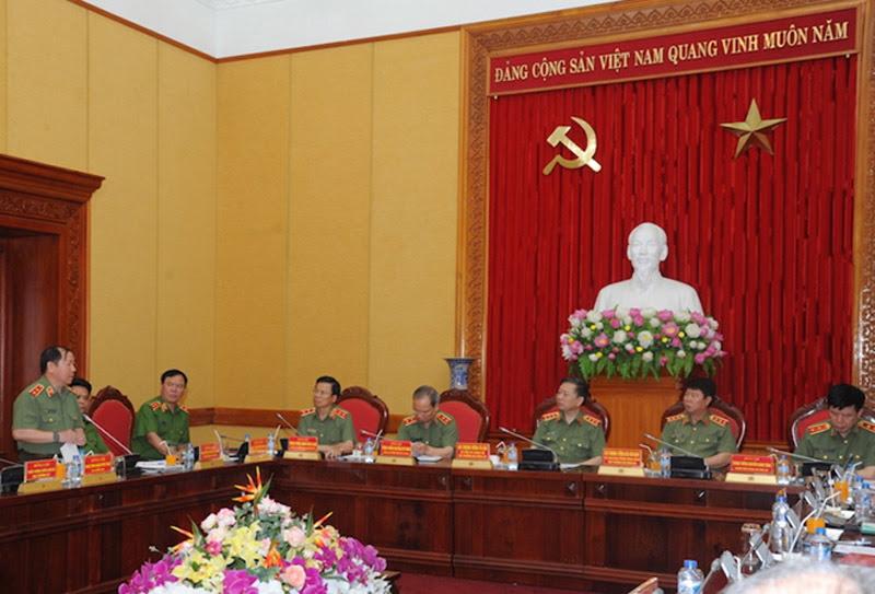 biểu tình, Việt Tân, Formosa, tụ tập ở Hà Tĩnh, Bộ trưởng Công an, Tô Lâm