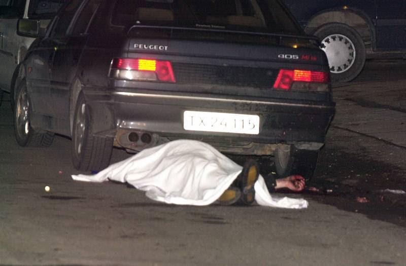Claus Bork Hansen blev skudt ned på en villavej i Vanløse. (Foto; Gert Jensen)