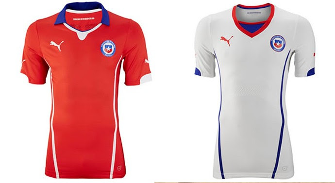 Chile camisa copa