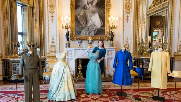 Royal Collection conservator Caroline de Guitaut with