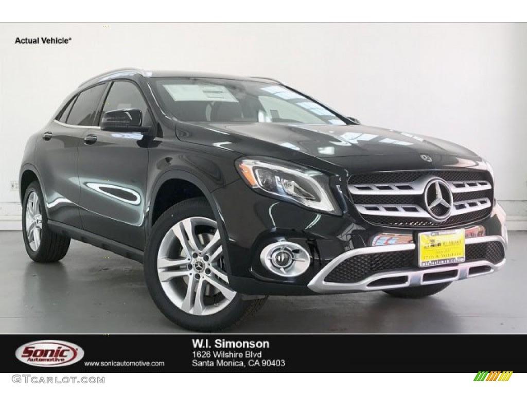 2020 Night Black Mercedes-Benz GLA 250 #135898531 ...