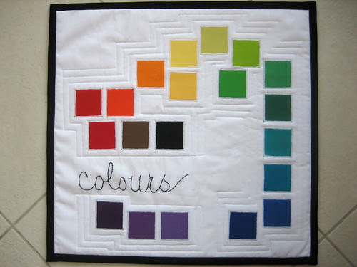 Colours on Linen
