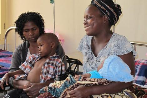 Centro de atención a la malaria en Mozambique.| ISGlobal