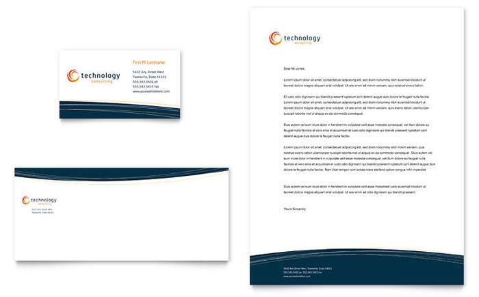 Free Letterhead Template - Word - Publisher - Microsoft