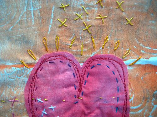 prayer flag 14 detail