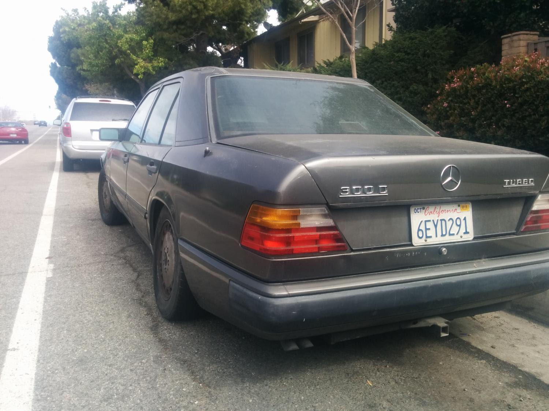 Mercedes 1987 300D Turbo Diesel For Sale $$$ 2,495 ...
