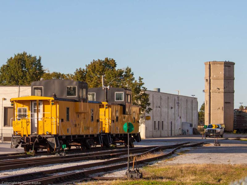 Essex Terminal Railway cabooses