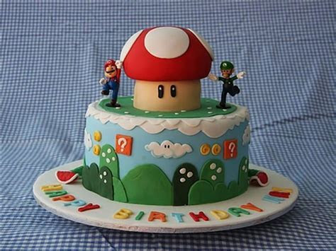 Mario Cakes ? Decoration Ideas   Little Birthday Cakes