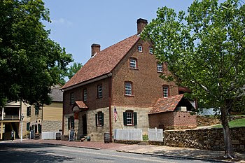 English: Winkler Bakery at Old Salem, Winston ...