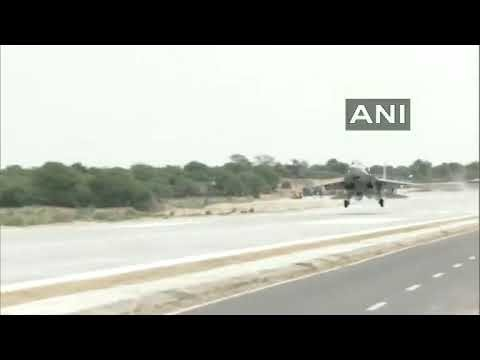 In A First, Sukhoi Su-30MKI Aircraft Lands At National Highway In Rajasthan's Jalore. Watch Video
