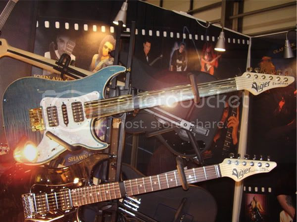 Vigier fretless guitar
