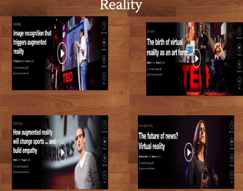 7 Great TED Talks on The Educational Potential of Augmented Reality