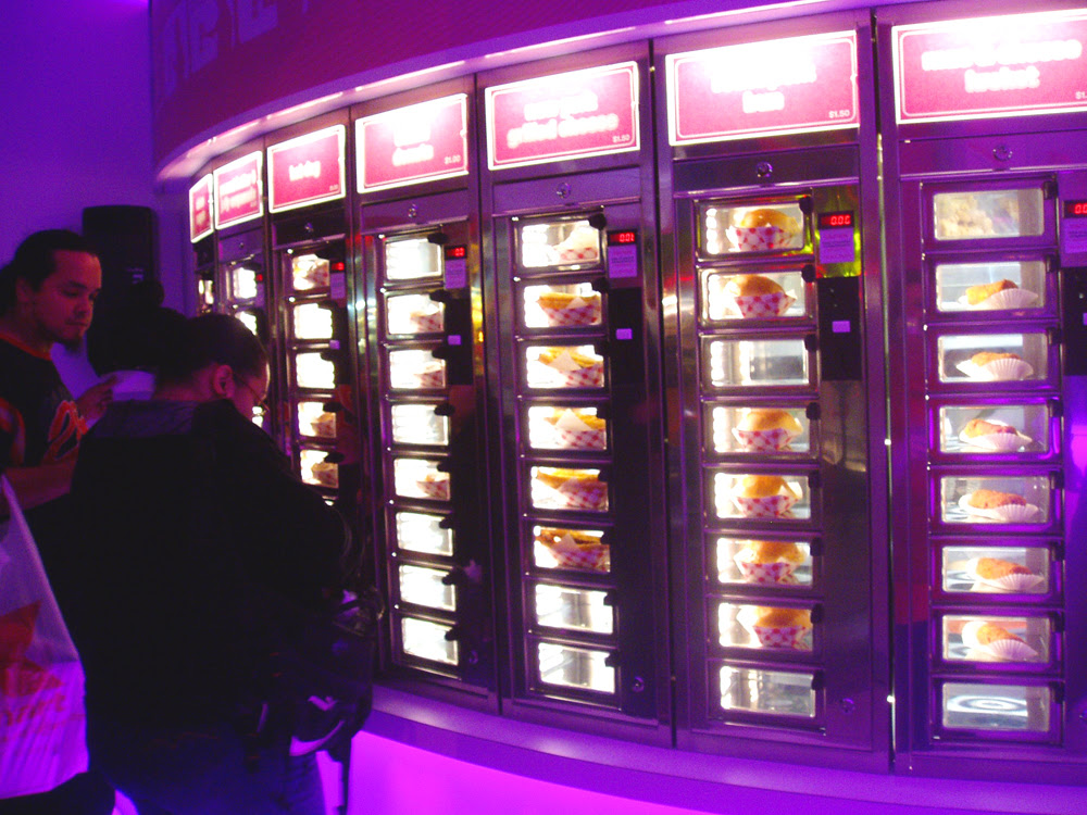 Friday Night at the Automat