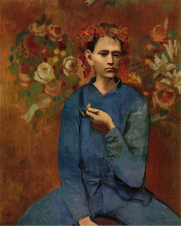 Пабло Пикассо Мальчик с трубкой