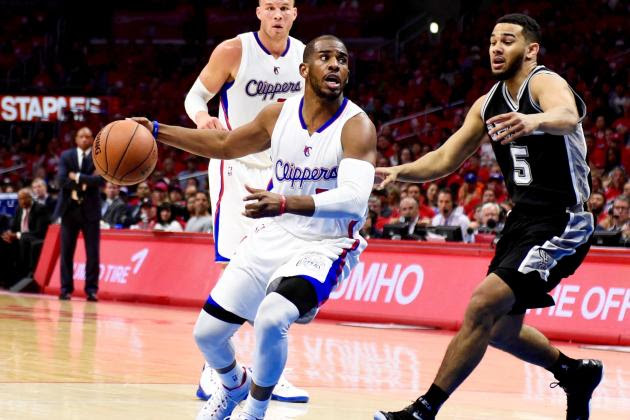 San Antonio Spurs vs. Los Angeles Clippers: Live Score and Analysis for Game 1