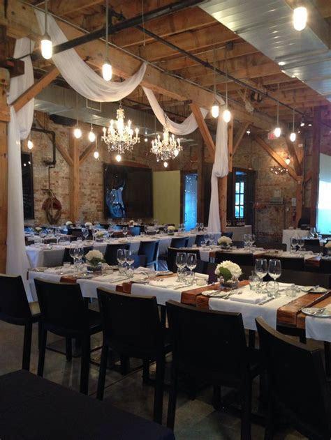 Our wedding venue.. Archeo  Distillery District, Toronto
